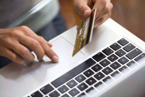 aumento das compras online.
