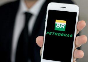 Ações da Petrobras.